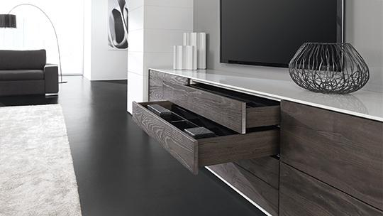 handle less soft closing drawer cabinetry