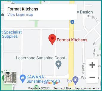 Format Kitchens location Sunshine Coast